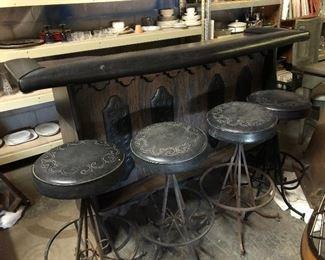 Southwest Bar with stools!