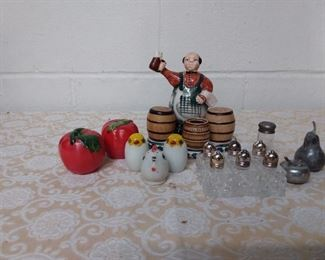 Collection Of Salt And Pepper Shakers Lot #: 1