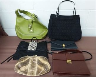 Lot Of 6 Purses Lot #: 3