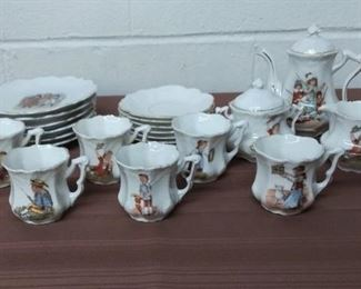 Child's Tea Set Lot #: 6