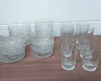 Clear Glass Lot #: 15