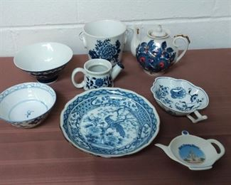 Group Of Blue And White China Lot #: 24