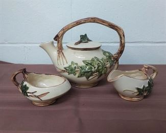 McCoy Teapot With Cream And Sugar Lot #: 51