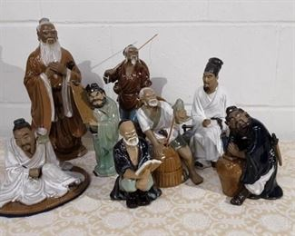 Grouping Of Chinese Mudmen Lot #: 66