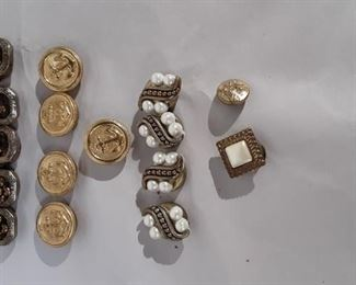 Button Covers Lot #: 75