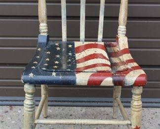 Flag Chair Lot #: 83