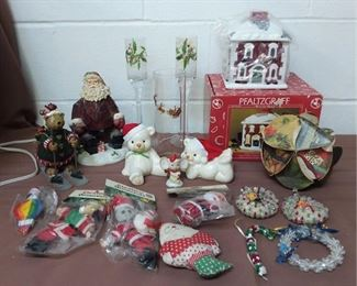 Grouping Of Christmas Decorations Lot #: 101