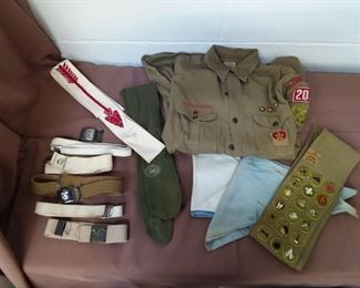 Boy Scout Lot Lot #: 108
