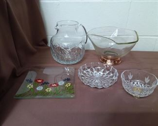 Group Of Glassware Lot #: 113