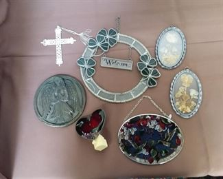 Stained Glass Window Art, Etc Lot #: 114
