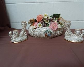 Three Piece Mantel Set Lot #: 119