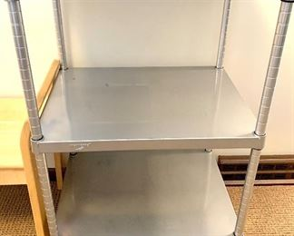 Industrial Stainless Kitchen Cart