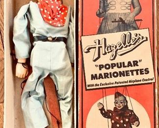 Antique Hagelle's Popular Marionettes