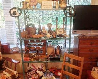 Antique Dolls, Farm equipment, Bushnell Binoculars,