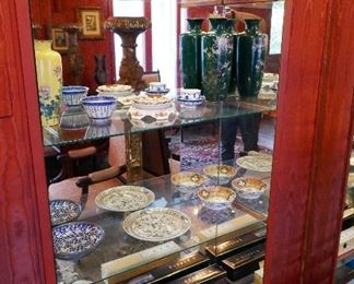 Chinese & Japanese Vases, Plates and Misc.