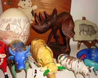 Rhinoceros decor.