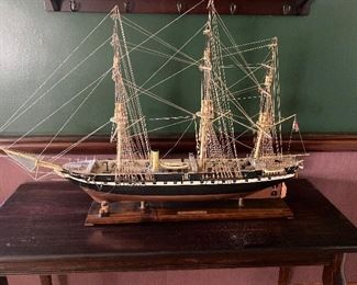 Well executed large model ship