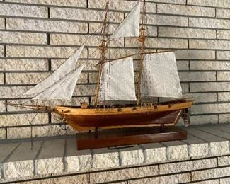 Another large beautiful ship model