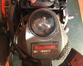 22 HP Kawasaki engine with 30 hours