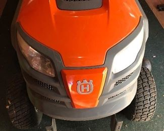 Husqvarna YT42DXLS riding mower. Purchased new 1/2018.