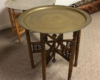 Pair of Morrocan style occasional tables