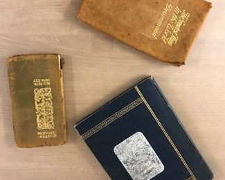 Small selection of Antique Books