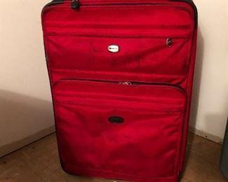 Several pieces of luggage