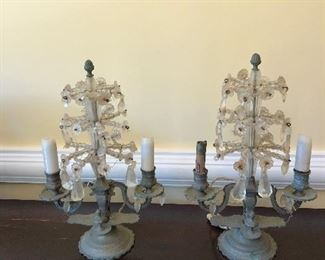 Early French candelabras