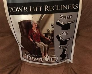New power lift recliner
