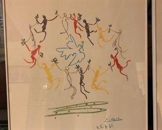 Pablo Picasso La Ronde de la Jeunesse ( The Dance Of The Youth ) 25-7-61