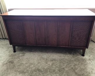 Vintage Fisher Diplomat Console Stereo