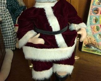 Hand made strung Santa