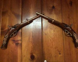 Dualing pistols