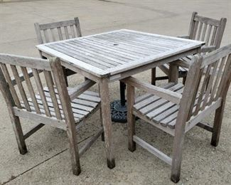 008 Oxford Garden Designs Table, Chairs