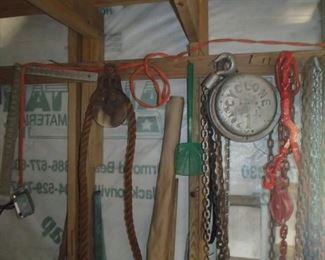 Cyclone 1 pulley