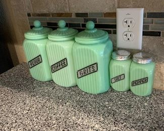 Canister and shakers