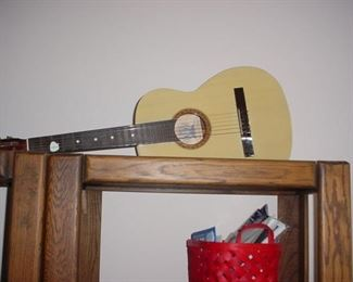 Acoustic guitar..there are several