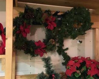 Large selection of Christmas decor