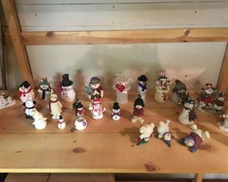 Snowmen - and more snowmen!