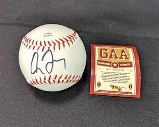 Greg Maddux Signed Baseball - Atlanta Braves