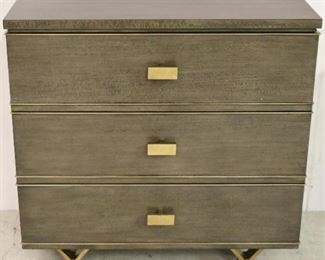 Modern History 3 drawer chest