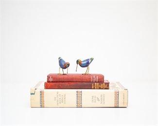 Very Small Cloisonné Birds