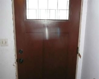 """Fiberglass Door with Window 36"""" X 80"""". $295.00"""