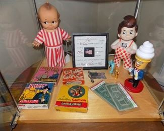 Vintage toys and movies