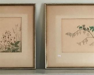 Watercolors by Ernst Von Maydell