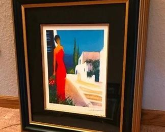 "Parfum de Mediterranee	 Artist - Emile Bellet; 2006; 10-1/2"" x 8-5/8""; Lithograph in color on wove paper; Signed and numbered in pencil; Registration No. 189010.0152; 319/450; Includes Certificate of Authenticity and Appraisal from Park West"