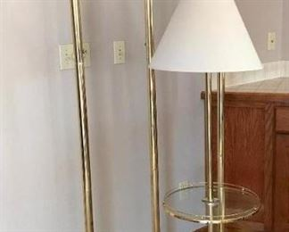 Four Floor Lamps