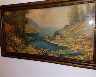 1920's framed print
