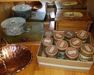 Old Edison Cylinder records in original boxes (as found...moldy....sigh...)