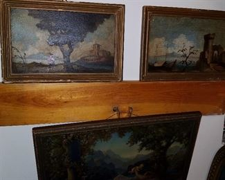 Paintings and print